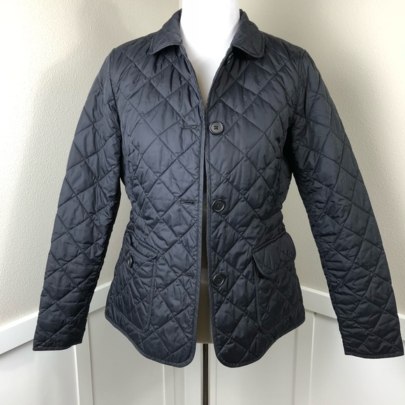 Gap Jackets Coats Quilted Jacket With Buttons Womens Sz M Poshmark